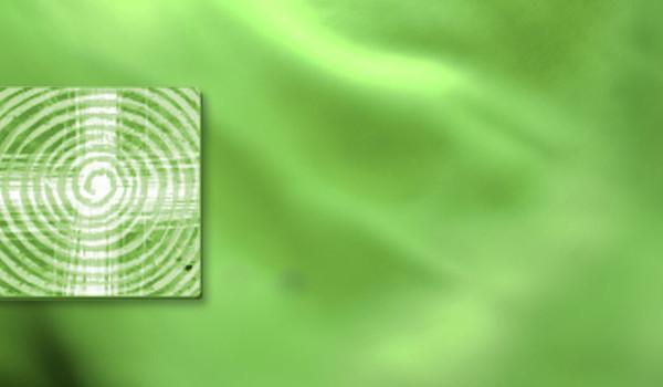 Kreuz-Symbol mit liturgischer Farbe grün