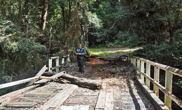 Bowens Creek Bridge Julian