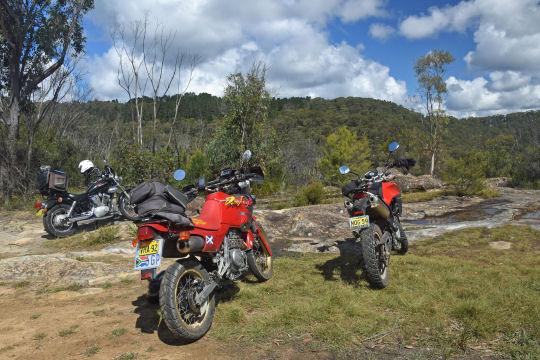 Mt Wilson viewpoint bikes 2