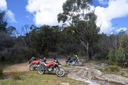 Mt Wilson viewpoint bikes
